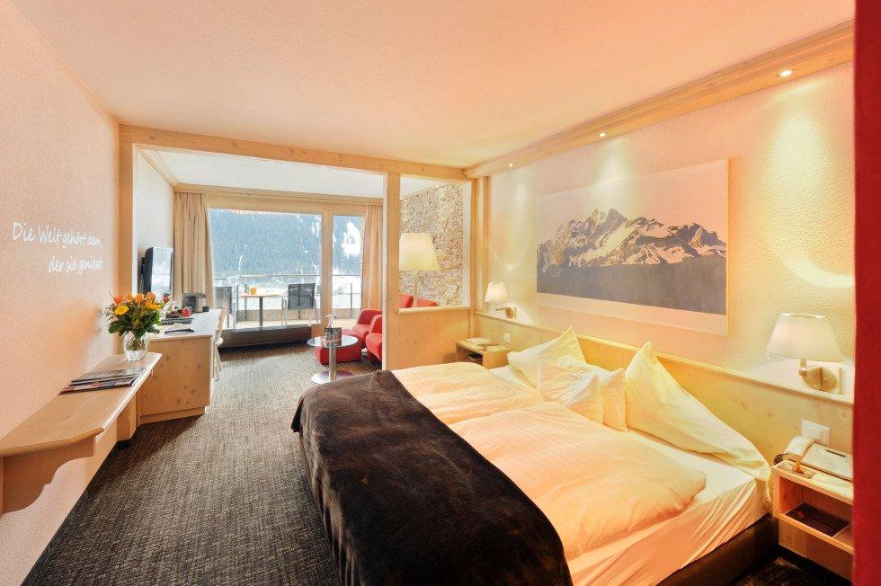 Hotelzimmer Eiger